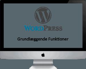 Wordpress grundlæggende Funktioner